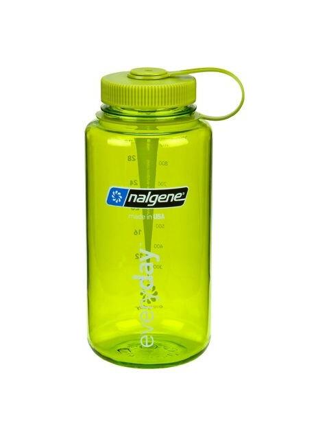 Nalgene 1L Wide Mouth Bottles Spring Green Tritan (2022)